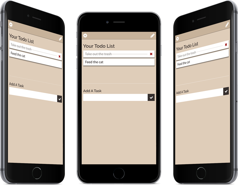 Todo List App Design