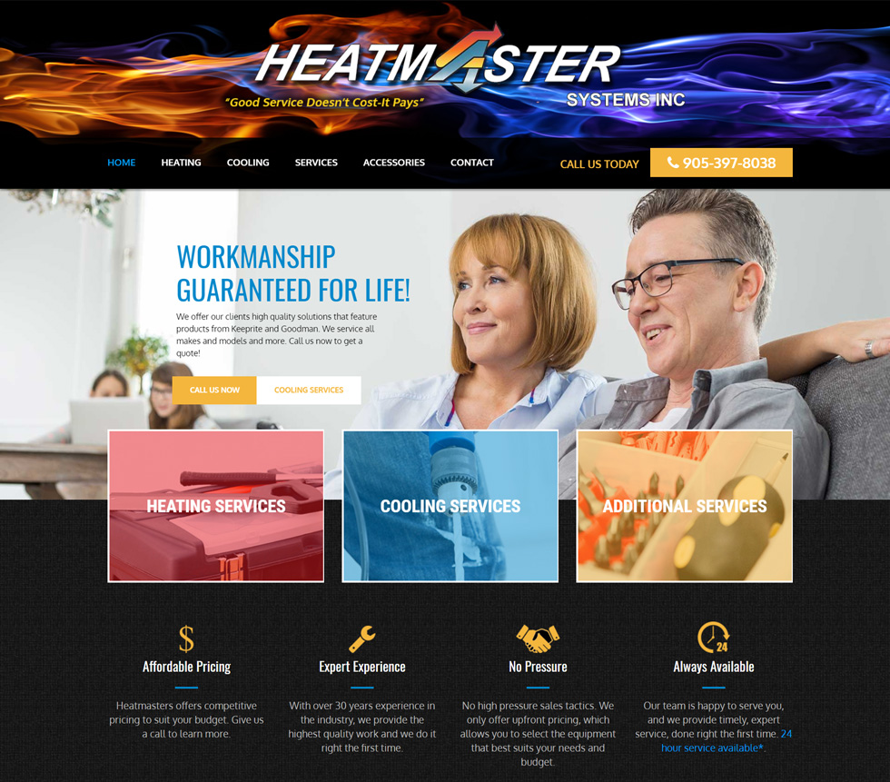 Heatmaster Systems Project