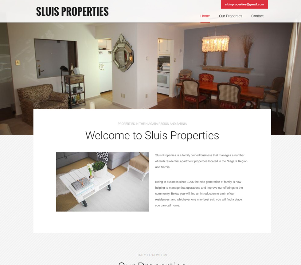 Sluis Properties Project